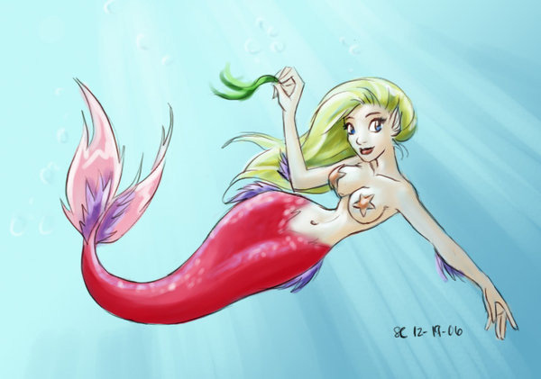 Pink Mermaid