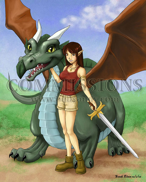 Lori and the Dragon